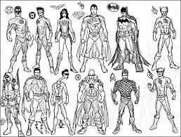 Superheroes Coloring Pages Printables Cartoon Pictures