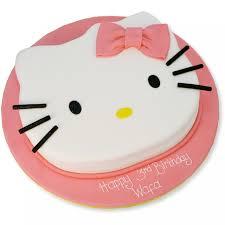 Hello Kitty Face Cake Birthday Cakes The Cake Store