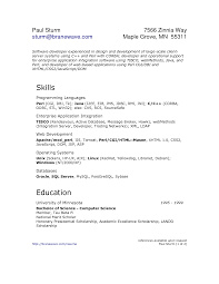 Java J2ee Resume Free Resume Example And Writing Download