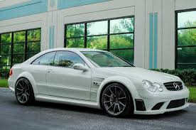 2008 Mercedes CLK 63 AMG Black Series Will Grow Some Hair On Your ...