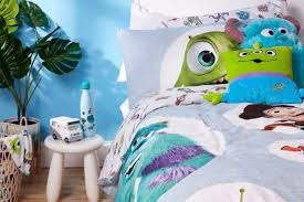 monsters inc and friends bedding set