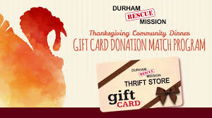 drmts thanksgiving gift card match