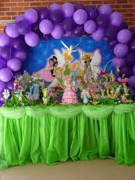Fairy Birthday Party Decorations Tinkerbell Party Decoration By Veruscadeviantartcom On