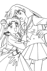 Sailor Moon Series Coloring Pages Usagi