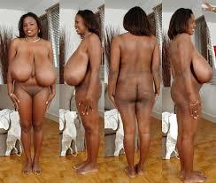 Big busty black grannies