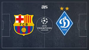 barcelona vs dynamo kiev how and where