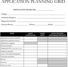 College Application Checklist Wolf Group