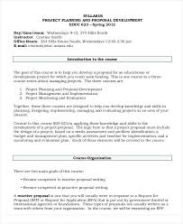 Project Templates Word Development Project Proposal Templates Word Pages Free