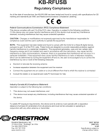 user manual template kbrfusb wireless keyboard user manual template compliance crestron