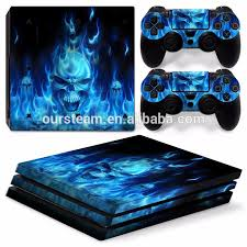 sony playstation 4 pro. for ps4 pro skin sticker sony playstation 4 console and 2 controller skins playstation