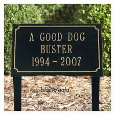 personalized slate pet memorial plaque