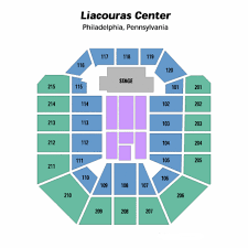 The Liacouras Center Seating Chart Theatre In Philly