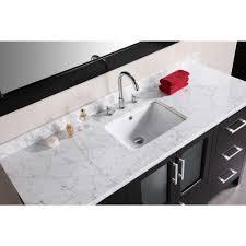 Design Element Stanton  In W X  In D Vanity And Mirror In - Reglaze kitchen sink