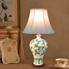 2018 tuda 30x55cm traditional chinese style table lamp vase ceramic table lamp high grade fabric lampshade from cornelius 148 19 dhgate com