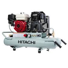 gas air compressor. image is loading hitachi-portable-8-gallon-gas-powered-wheelbarrow-air- gas air compressor