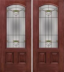 by escon door in double door built from