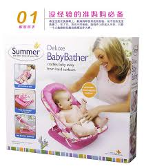 summer infant newborn to toddler portable folding bathtub