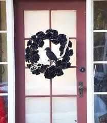 halloween front door decorations25 DIY Halloween Wreaths  Halloween Door Decoration Ideas