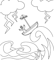 Printable Coloring Pages Jesus Calms Storm Copy Best Of The Page In