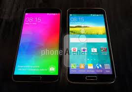 Foto zeigt Samsung Galaxy F neben dem ...