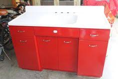 vintage kitchen sink cabinet. Wonderful Sink Farmhouse Sink Picked It Up Yesterday The Cabinets Are Metal Sink Is  Old Vintage Cast Iron On Vintage Kitchen Sink Cabinet E