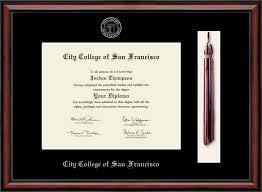 city college of san francisco tassel edition diploma frame in  city college of san francisco tassel edition diploma frame in southport item 235015