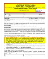 It typically covers a damage/loss should an accident occur. 11 Liability Waiver Form Templates Pdf Doc Free Premium Templates
