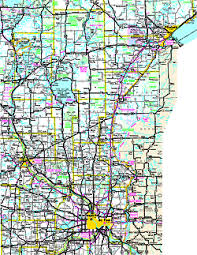 official minnesota state highway map Mn Highway Map east central regional map mn highway map pdf