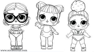 Lol Doll Coloring Pages That You Can Print Out Dolls Coloring Pages