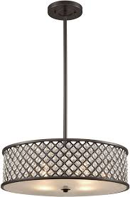 drum pendant lighting shade lights bellacor home chandelier within prepare 15
