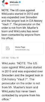 Wikileaks office Pionen History Home And Office Wikileaks wikileaks Note The Us Case Against Sky News Wikileaks Note The Us Case Against Wikileaks Started In 2010 And Was