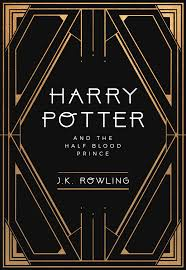 book cover redesign harry potter meets art deco