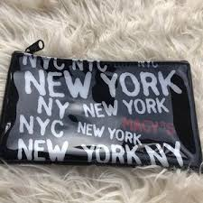 macy s bags 2 macy s new york makeup cosmetic bag pouch