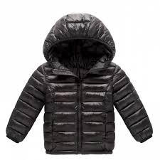 kids winter white duck down jacket baby girls boys warm light down cotton coat children winter