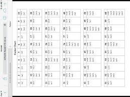 Factor Chart 1 60 Cheet Sheet Chart Search