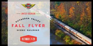 Fall Flyer Cvsr Introduces Fall Flyer For October Cuyahoga Valley