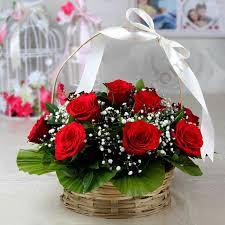 pure love rose basket