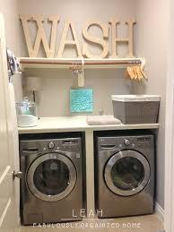 Washer Dryer Shelf Laundry Room Wash Dry Fold Station I Want This Laundry