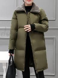autumn winter outer heavyweight solid color lightweight women s inner cotton coat 13110943 down jacket coat dore com