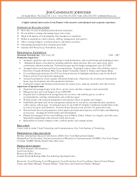 5 Corporate Event Planner Resume Statement Synonym