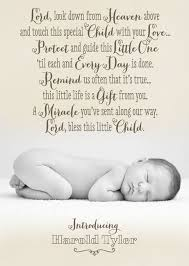 Baby Boy Announcement Card From Tinyprints Com Prayer For