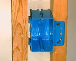 nailing up electrical boxes electrician 1 use a front mount box