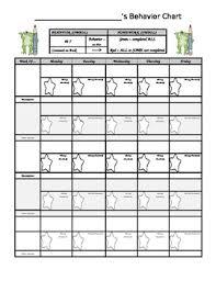 Homework Chart For Parents Frog Behavior Homework Chart
