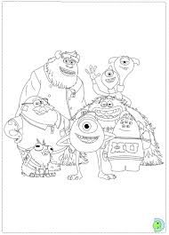 Small Picture Monsters University Coloring page DinoKidsorg