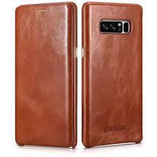 samsung note 8 case. icarer samsung galaxy note 8 genuine leather case-1 case o