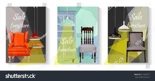furniture sale banner. Furniture Sale Advertisement Flyers.Vector Banners.Sale Tag Banner 3  Sets.Elements Of Furniture