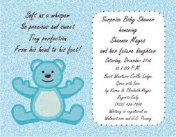 Writing A Baby Shower Invitation