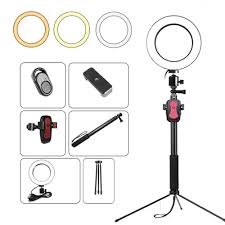 Ring Light Tripod For Iphone
