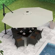 cantilever patio patio umbrellas clever and modern