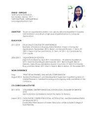 ojt resume. Resume For Hrm Students